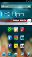 Screenshot of MetroBars (For Zooper Widget)