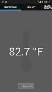 Galaxy Thermometer & Sensors