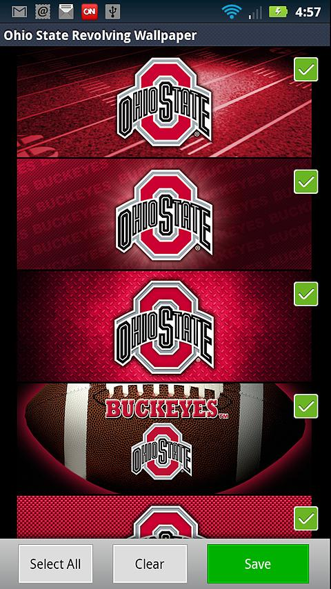 Ohio State Buckeyes Wallpaper- screenshot