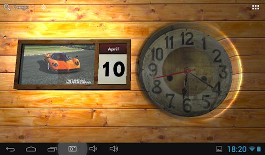 Clock and Calendar 3D 10