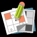 Grid games (crossword, sudoku) icon