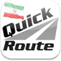 Quick Route Iran icon