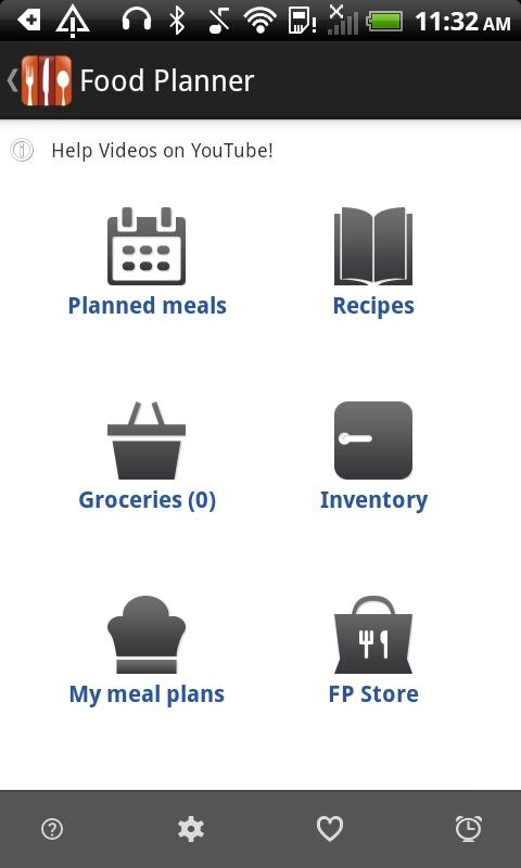 Food Planner Android Apps On Google Play