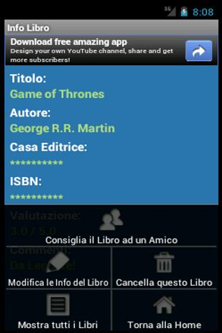 Libreria Digitale - screenshot