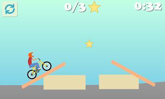 Screenshot of BMX Racing - Hill Climb