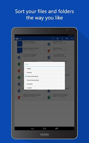android OneDrive Screenshot 0