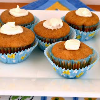 Mini Gluten Free Applesauce Cinnamon Muffins.