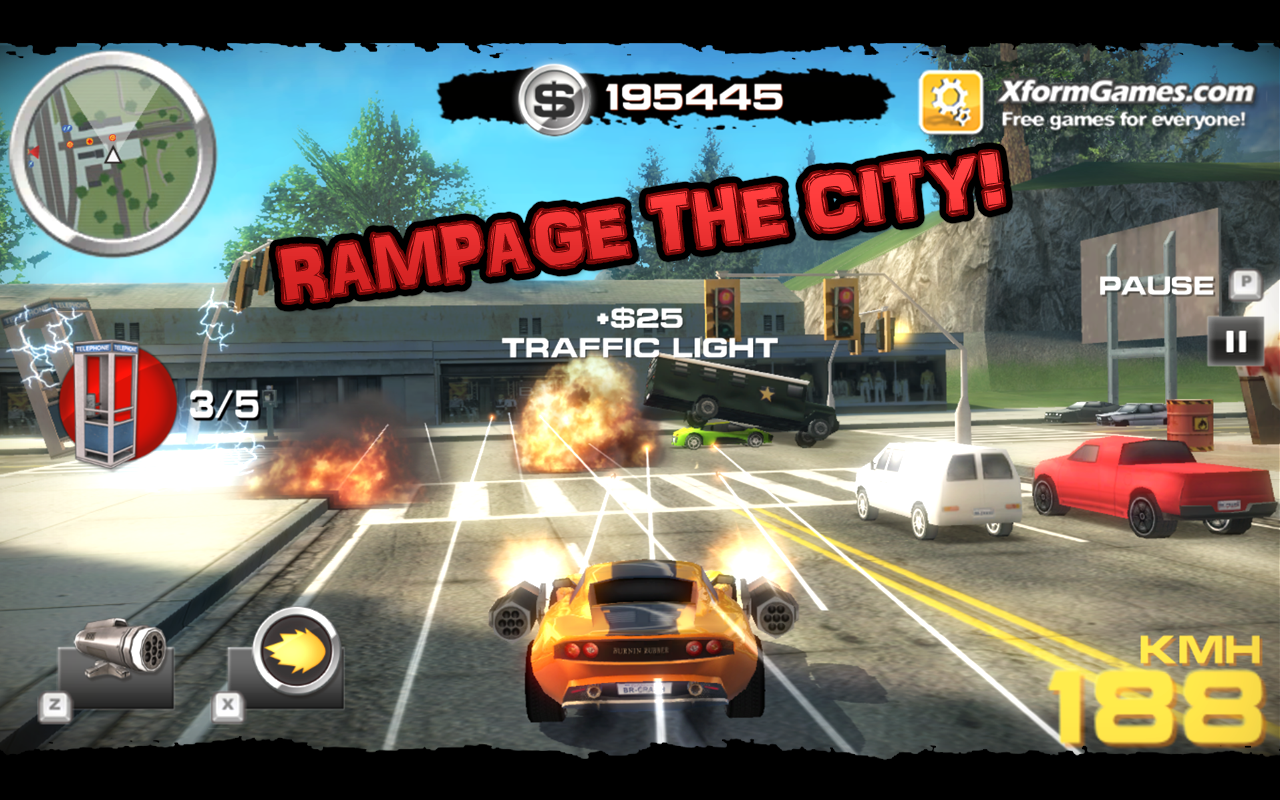 Burnin Rubber Crash N Burn Android Apps On Google Play