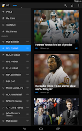 theScore: Sports & Scores Screenshot 1