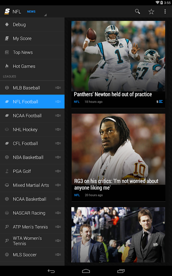 theScore: Sports & Scores- screenshot