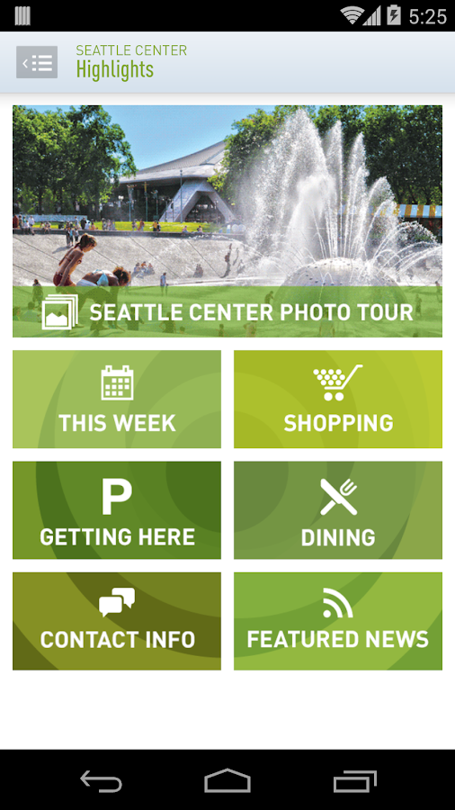 Seattle Center - screenshot