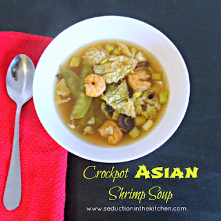 Crockpot Asian Shrimp Soup