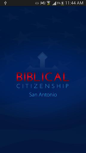 Biblical Citizenship SATX