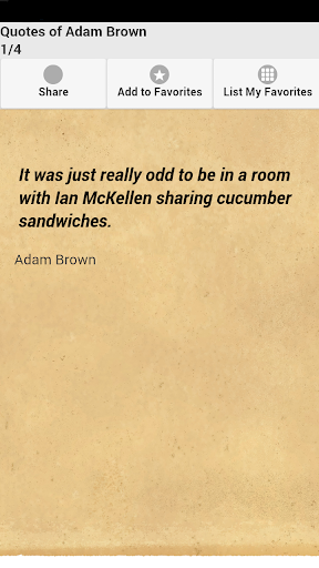 Quotes of Adam Brown