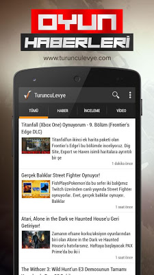 Turuncu Levye - screenshot