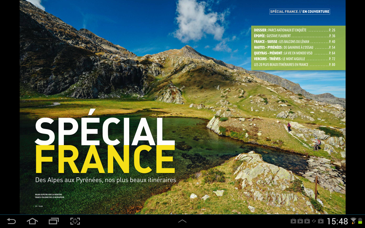 Trek Magazine – Capture d'écran