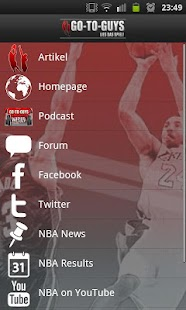 Go-to-Guys NBA Blog - screenshot thumbnail