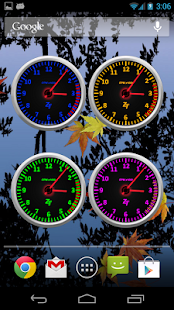 Tachometer Clock Combo Set - screenshot thumbnail
