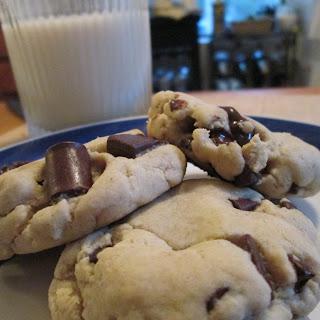 Ooey Gooey Chocolate Chip Cookie.