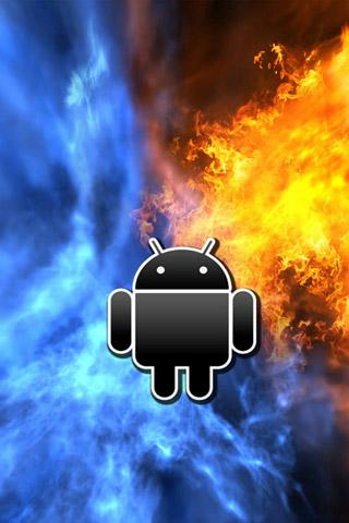 Android Logo Wallpaper - screenshot