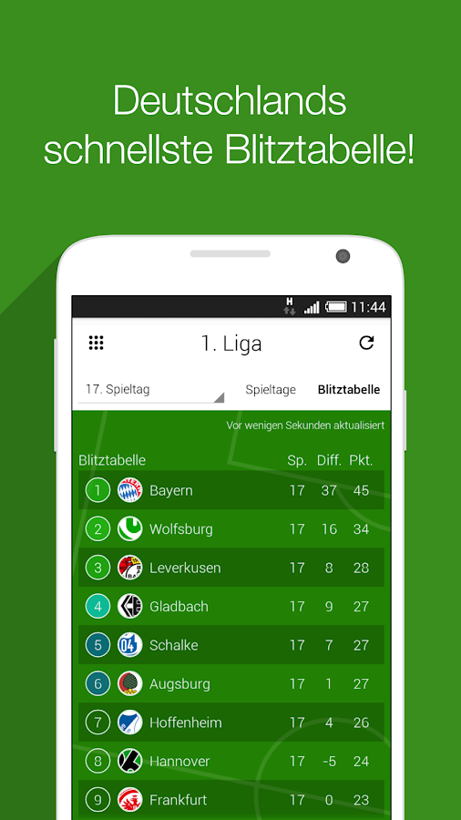 toralarm fussball bundesliga android apps auf google play