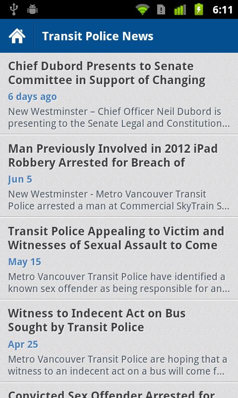 Metro Vancouver Transit Police- screenshot