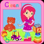 Strawberry Shortgirl Kid Clean