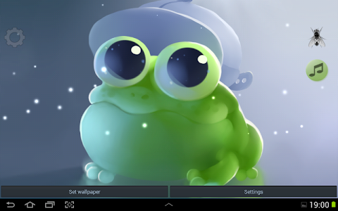 Apple Frog Live wallpaper screenshot 4