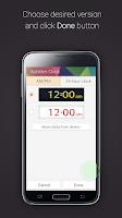 Screenshot of Bubbles Clock for Gear Fit