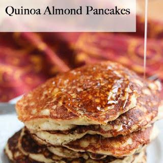 Quinoa Almond Flour Pancakes.