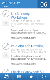 SF Bay Area Events- screenshot thumbnail