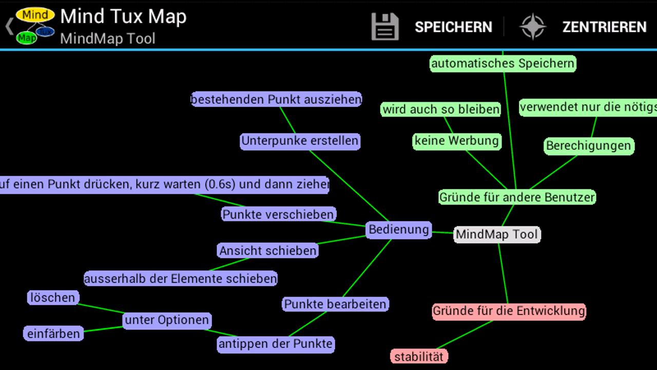 Mind Tux Map- screenshot