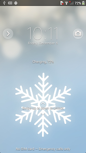 XPERIA™ Winter Snow Theme- screenshot thumbnail