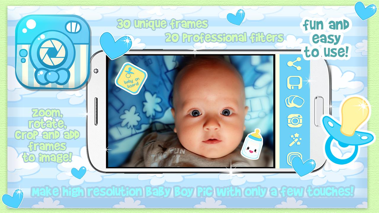 Bayi Laki Bingkai Foto Apl Android Di Google Play