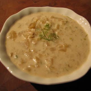 Caramelized Fennel-Potato Soup