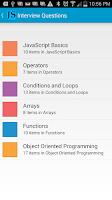 Screenshot of JavaScript Interview Questions