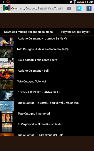 download canzoni