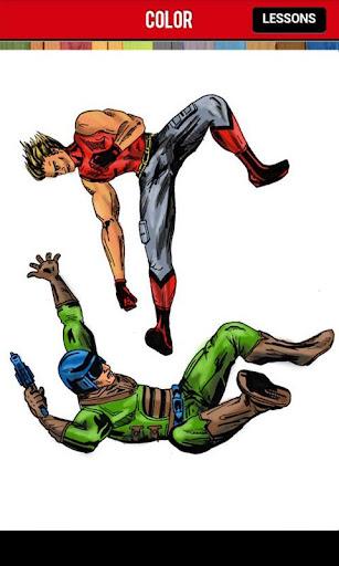 【免費漫畫App】How to Draw Comics Superheroes-APP點子