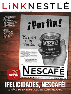 Link Nestlé- screenshot thumbnail