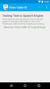 Voice Caller ID - Ad Free- screenshot thumbnail