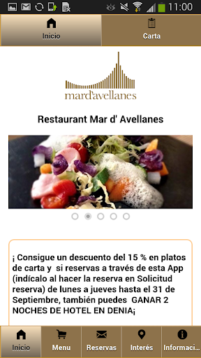Restaurante Mar de Avellanas