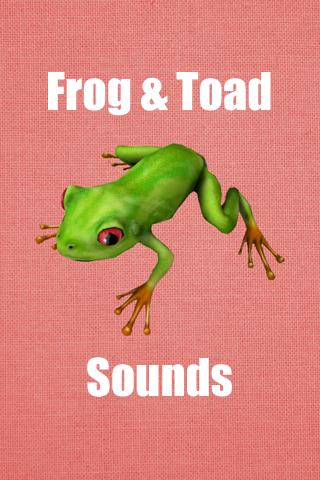 免費娛樂App|Frog & Toad Sounds|阿達玩APP