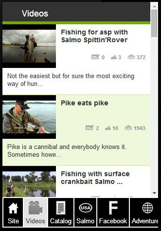 【免費運動App】Salmo Lures-APP點子