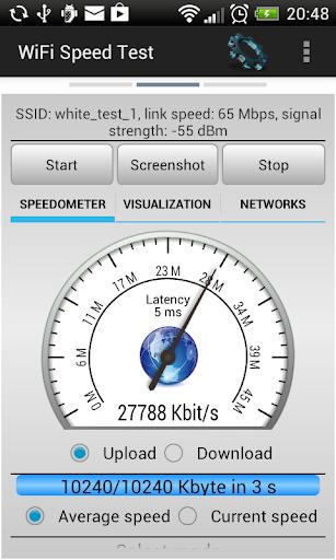 WiFi Speed Test 2.6.6 screenshots 1