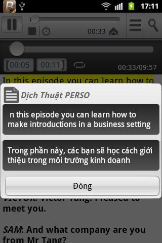 【免費教育App】Tieng Anh Giao Tiep Thuong Mai-APP點子