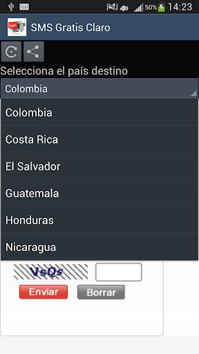 SMS Gratis Claro Latinoamérica