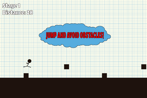 Stickman:Impossible Line Run screenshot