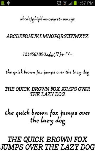 Fonts for Galaxy FlipFont Free 3.23.0 screenshots 6