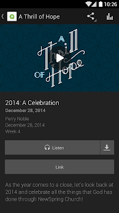 NewSpring Church - screenshot thumbnail