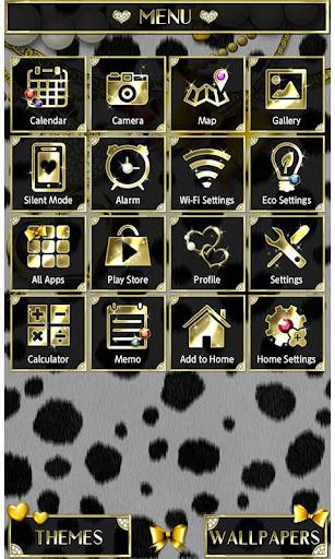 Cute Theme Dalmatian Hearts 1.0.1 Windows u7528 3
